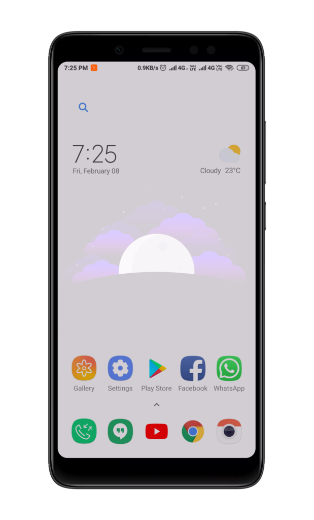 Enable Transparent Wallpaper with New MIUI Theme App 1 5 1 2