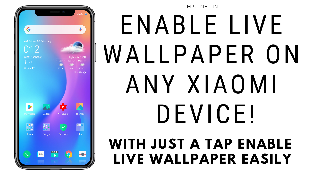 Enable Live Wallpaper on any Xiaomi Device! - MIUI