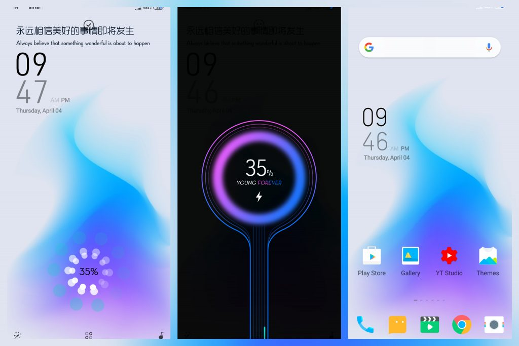 Young Forever(Charging Animation)Theme for MIUI 10 - 2019 - MIUI