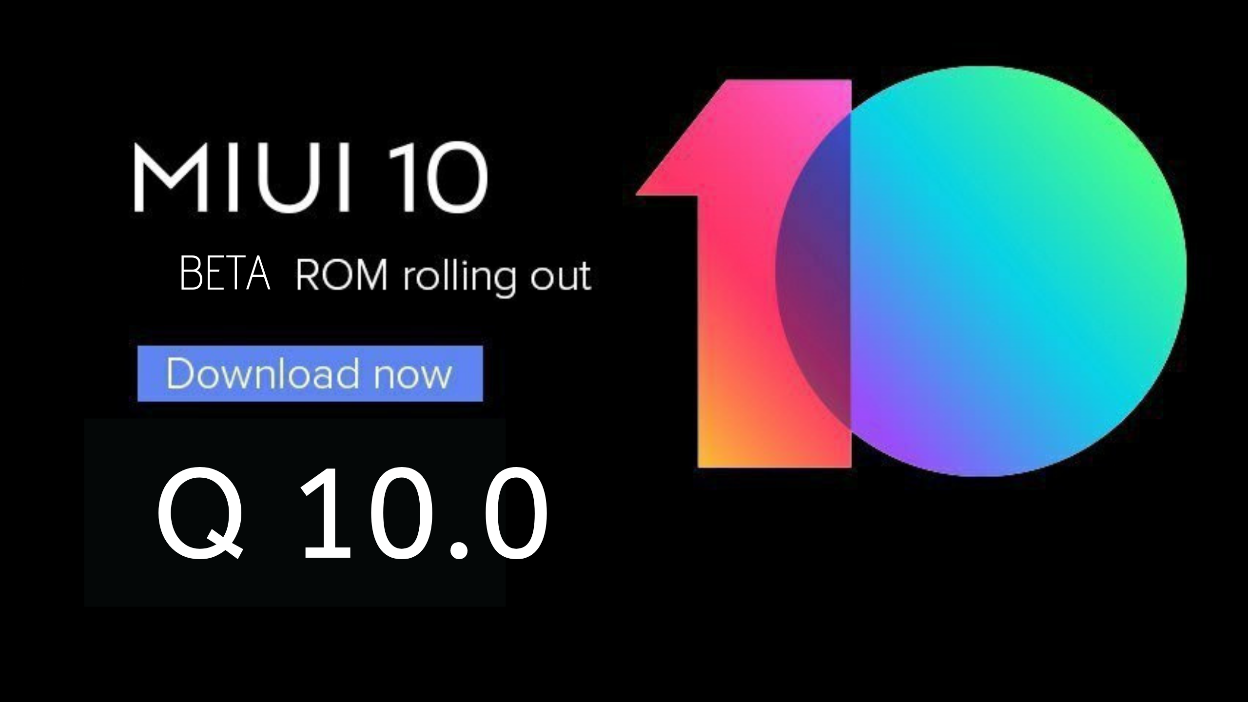 Android Q Miui 10 9 8 8 Beta Update for Redmi K20 Pro- Download Link